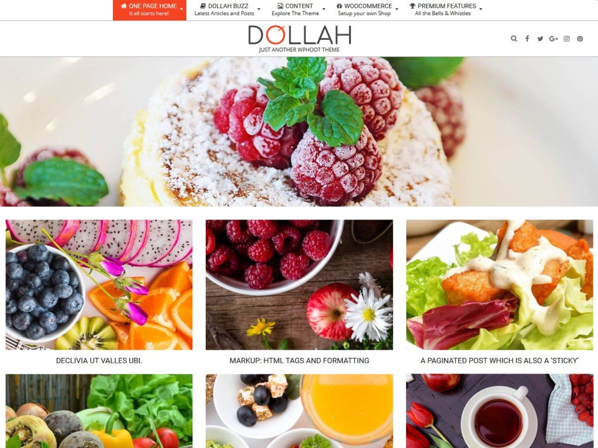 Dollah best WooCommerce theme