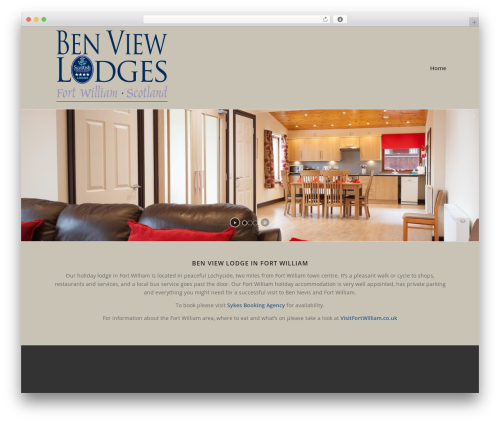 Enfold top WordPress theme - benviewlodges.co.uk