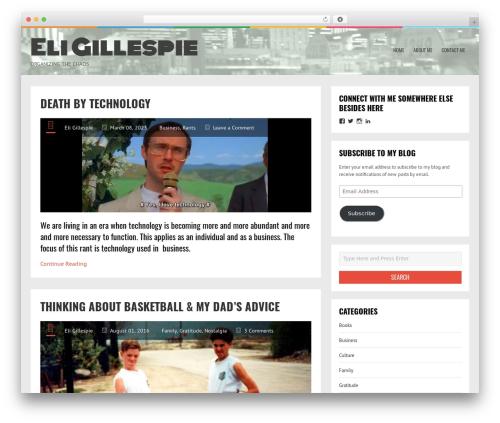 LiveBlog WordPress free download - eliasgillespie.com