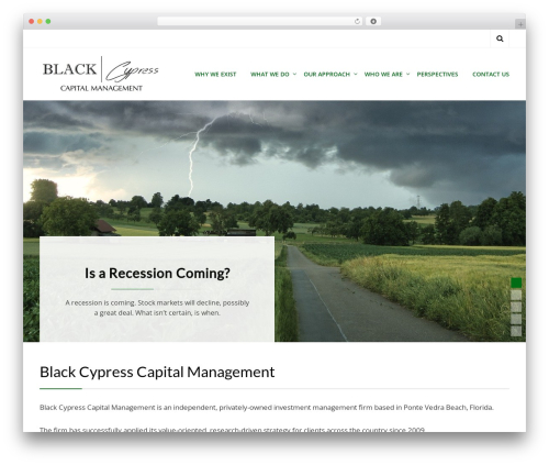 Template WordPress Cell - blackcypresscapital.com