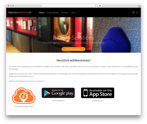 WordPress theme Altitude - beaconsolutions.ch