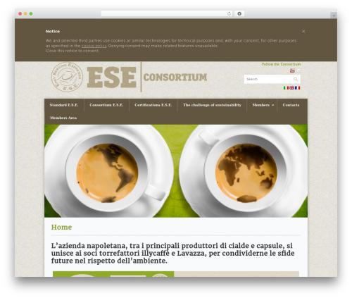 WordPress theme Office - eseconsortium.com