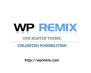 WordPress theme WP Remix