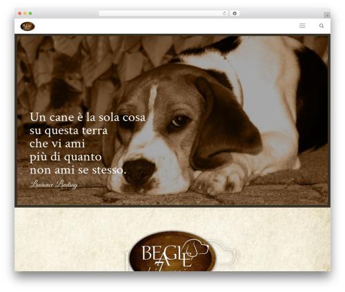 Betheme WordPress website template - beagledeisettecampi.it