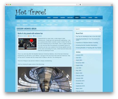 EducationBlog WordPress blog template - berlin.hot-travel.org