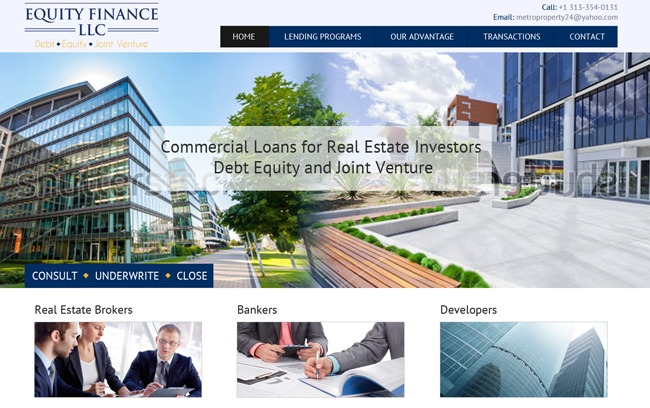 Equity Finance, LLC WordPress theme