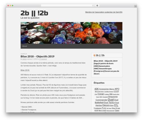 Theme WordPress Gridiculous - everick.fr
