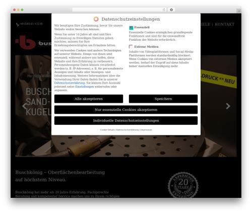 Theme WordPress WP Yamato - buschkoenig.de