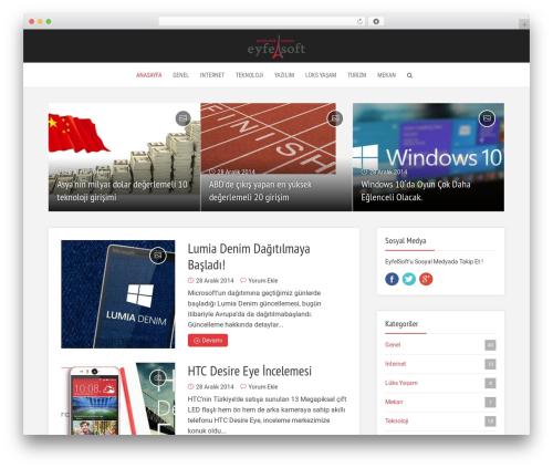 Free WordPress Meks Smart Social Widget plugin - blog.eyfelsoft.com