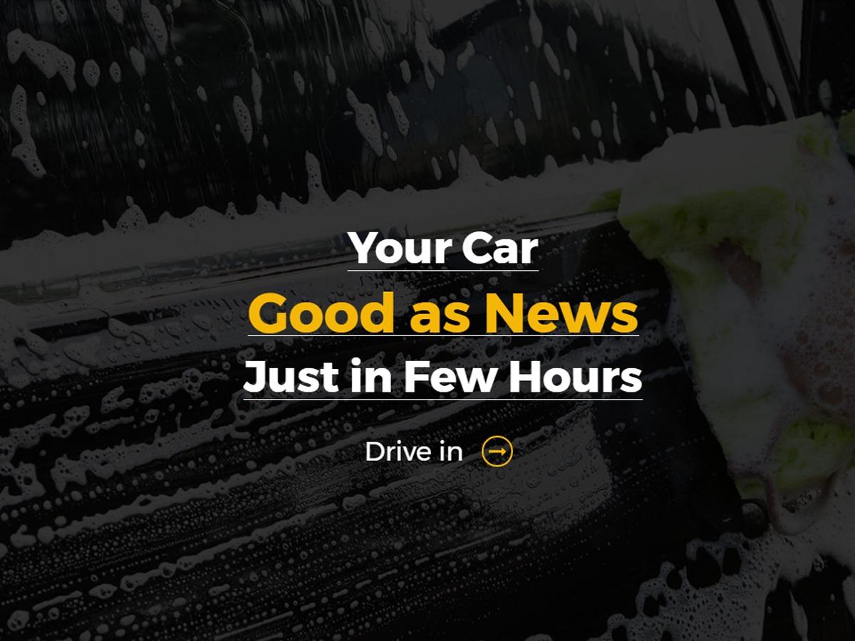 WordPress theme Car Wash