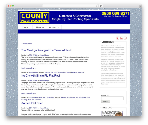 Free WordPress constant contact plugin - blog.countyflatroofing.co.uk