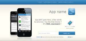 Apptamin A Theme WordPress website template