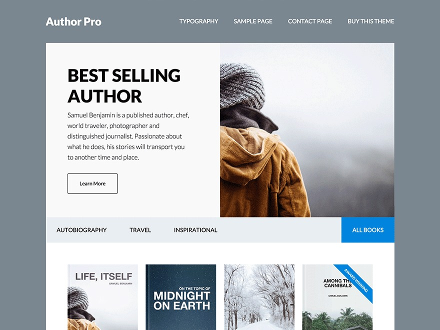 Author Pro Theme WordPress theme