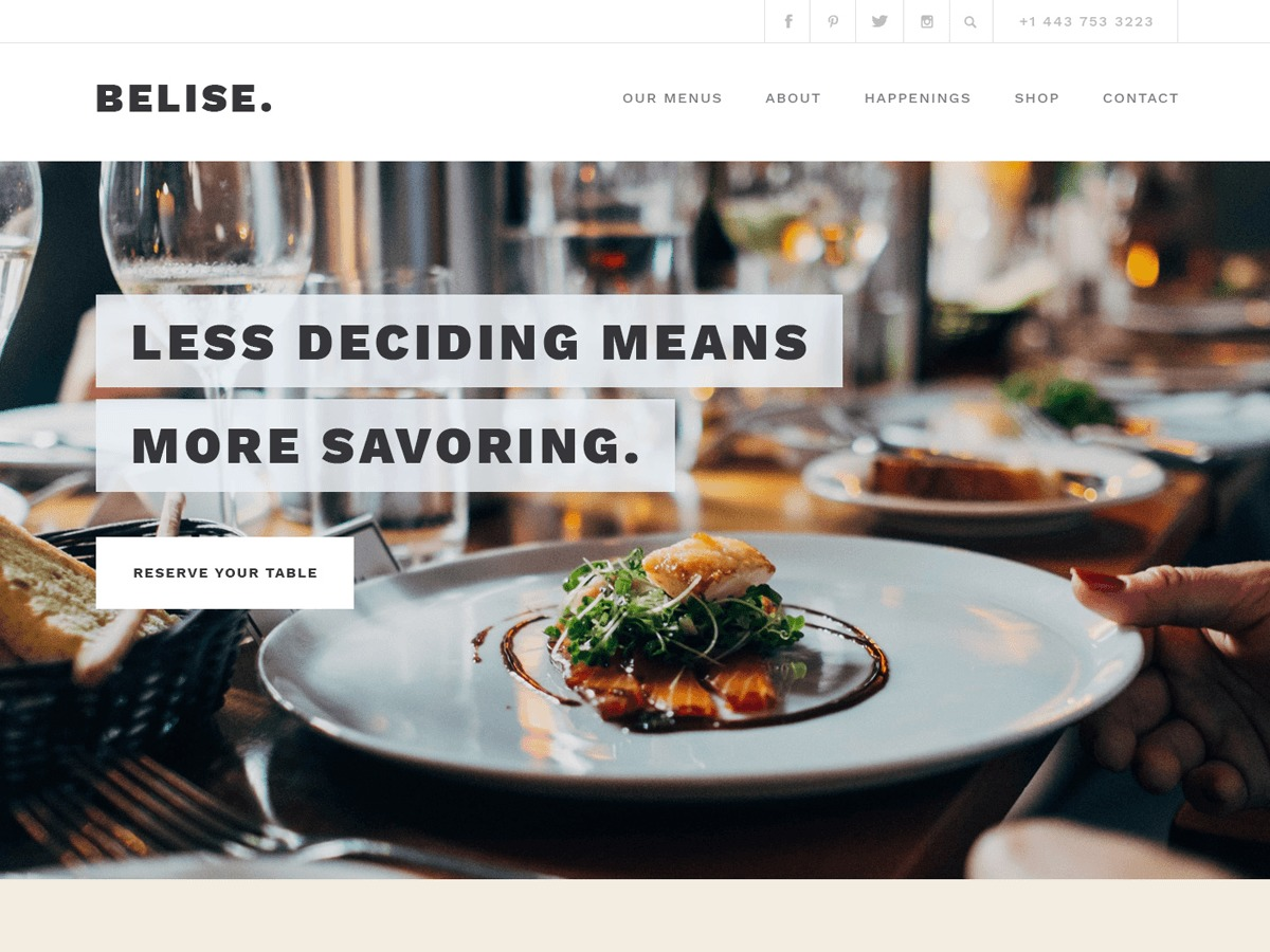 Belise Lite WordPress store theme