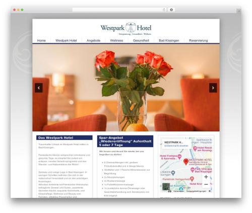 Best WordPress template Epic - westpark-hotel.de