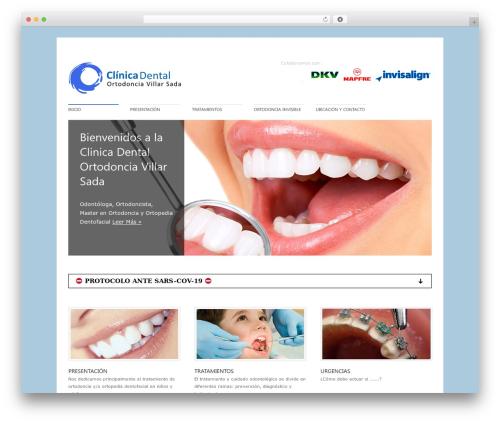 Best WordPress template Perfekto - web.villarsada.es