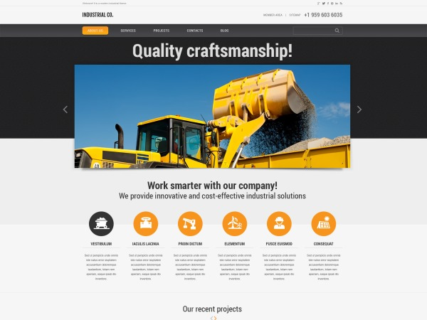 Best WordPress template theme45825