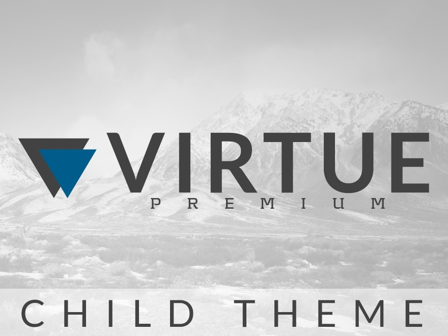 Best WordPress template Virtue – Premium Child