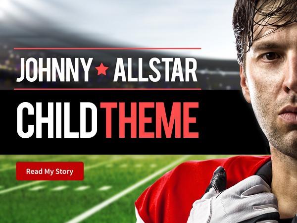Best WordPress theme AllStar Child Theme