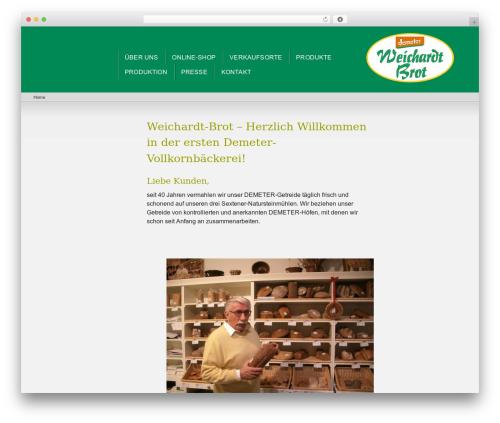 Best WordPress theme e-Child Theme [www.weichardt.de] - weichardt.de