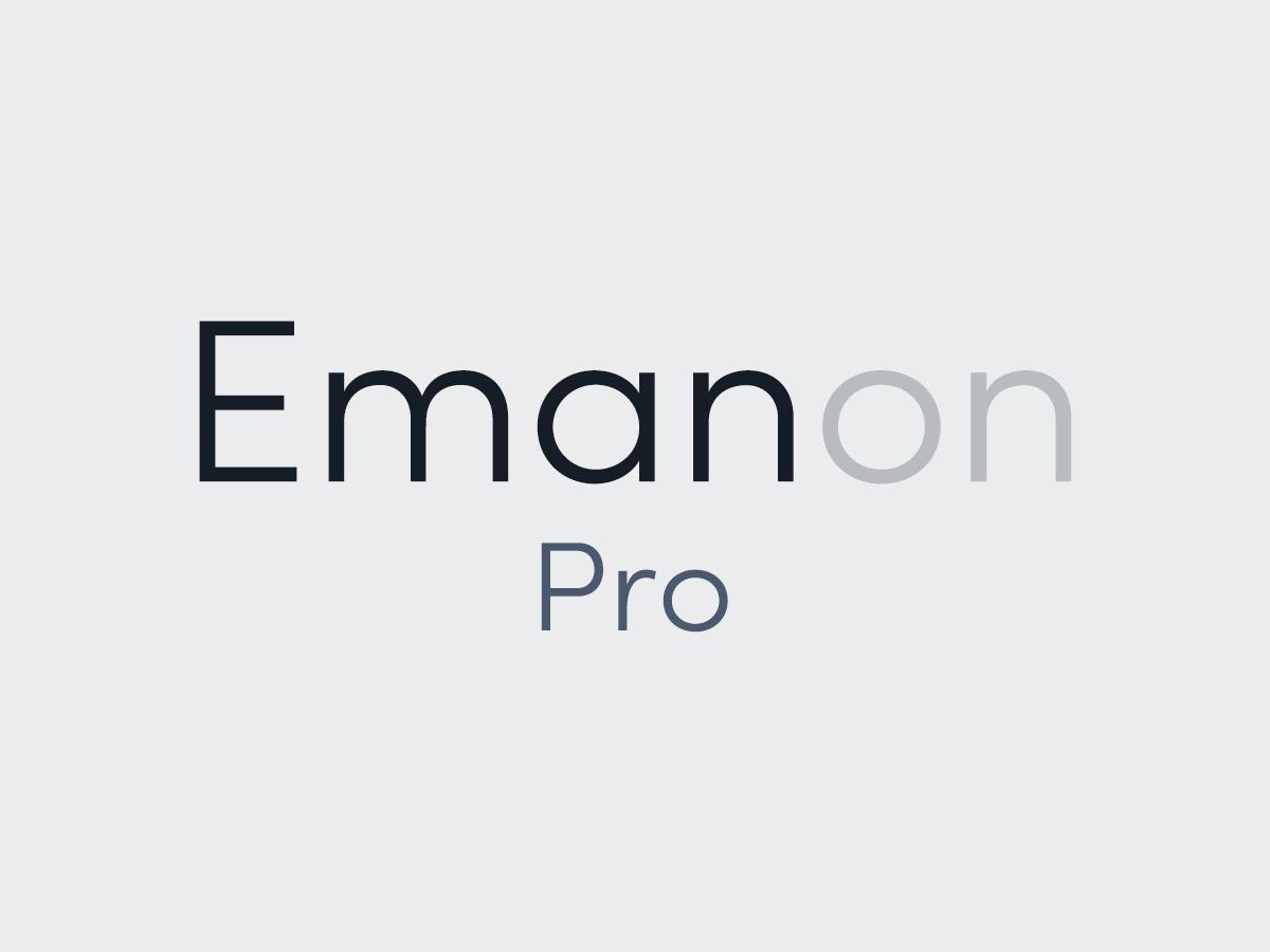 Best WordPress theme Emanon Pro
