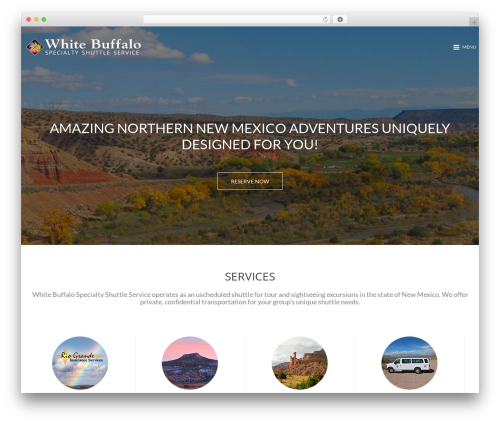 Best WordPress theme MinimalZerif - whitebuffaloshuttle.us