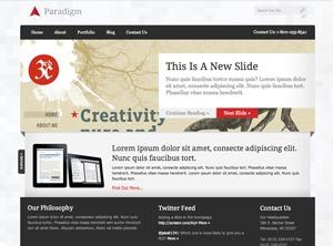 Best WordPress theme Paradigm