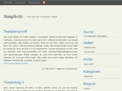 Best WordPress theme SimplicityBright