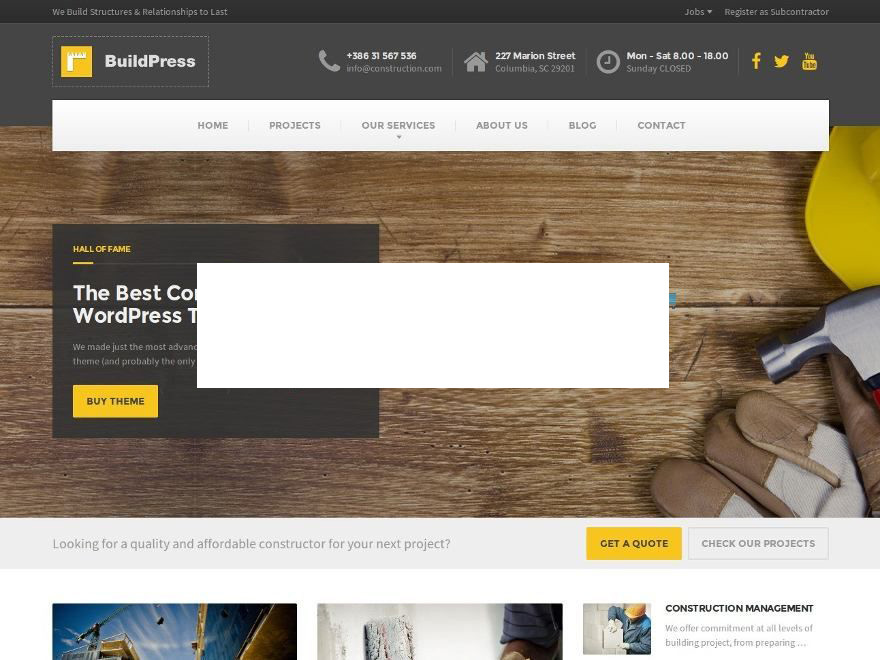 BuildPress WP Theme (shared on wplocker.com) WordPress template