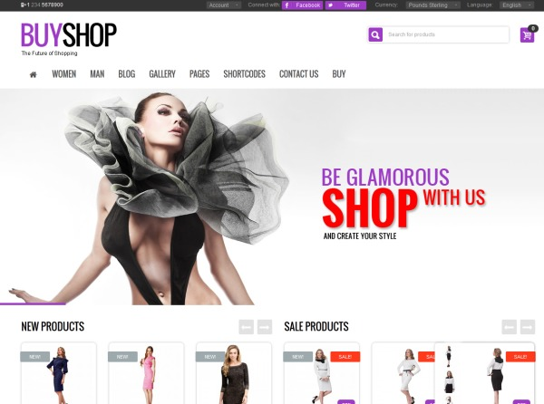 BuyShop WordPress store theme