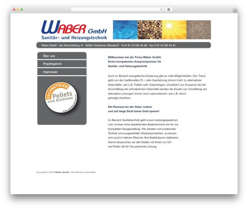 Catch Box top WordPress theme - waber.info