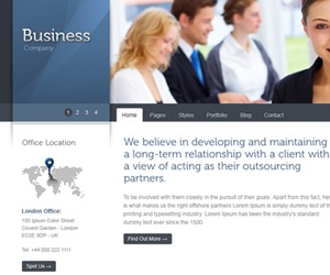 Celta Business business WordPress theme