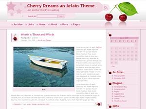 Cherry Dreams best WordPress template