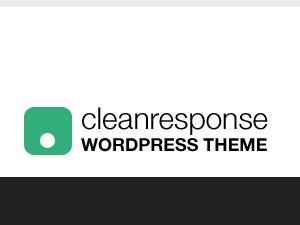 CleanResponse company WordPress theme