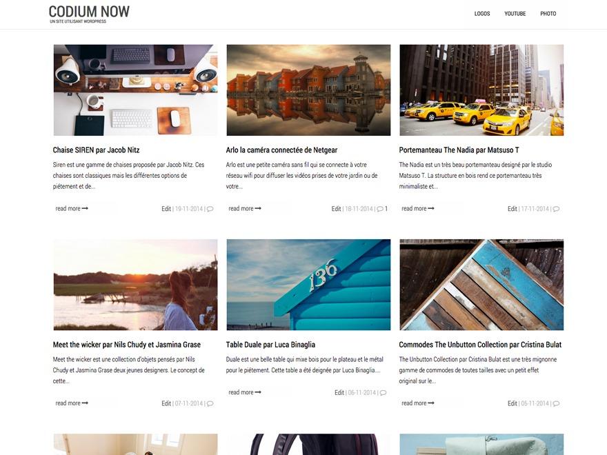 Codium Now WordPress theme free download