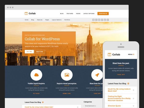 Collab business WordPress theme