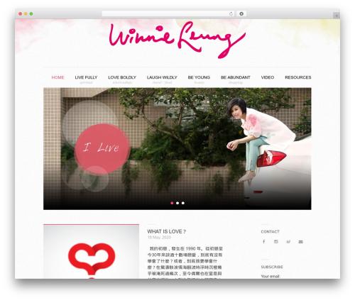 Coller free WordPress theme - winnieleung.hk