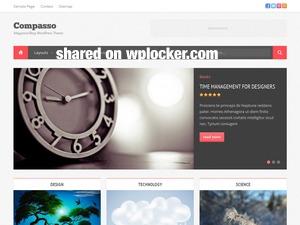 Compasso )shared on wplocker.com) WordPress blog theme