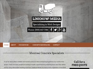 Concrete Contractors V8 WordPress template