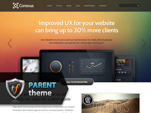 Conexus Parent premium WordPress theme