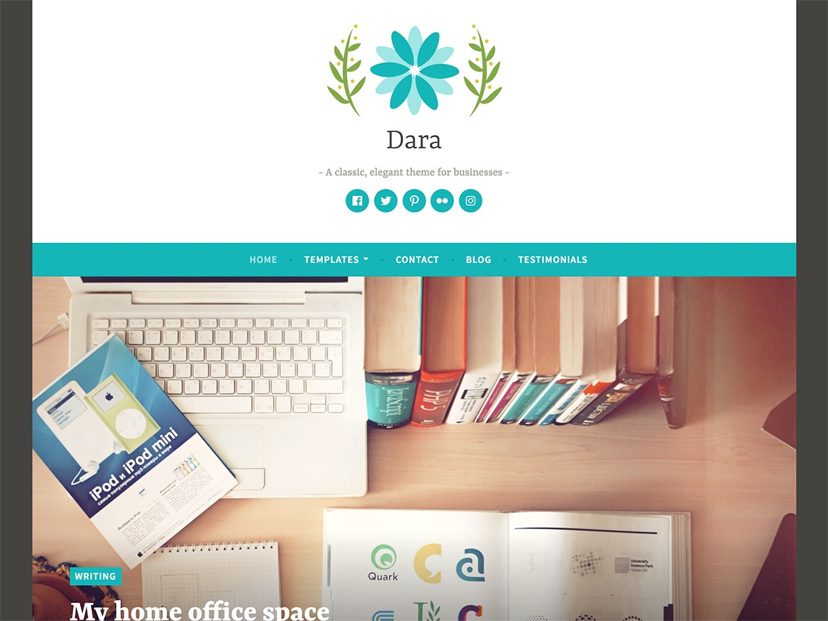 Dara WordPress gallery theme