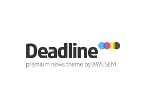 Deadline Responsive WordPress news template
