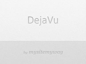 Dejavu best WordPress template