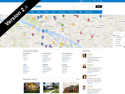 Directory 2 company WordPress theme