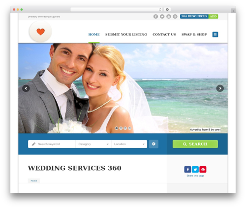 Free WordPress Form Builder | Create Responsive Contact Forms plugin - weddingservices360.com