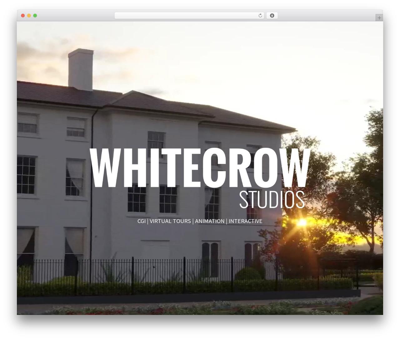 Divi premium WordPress theme - whitecrowstudios.co.uk