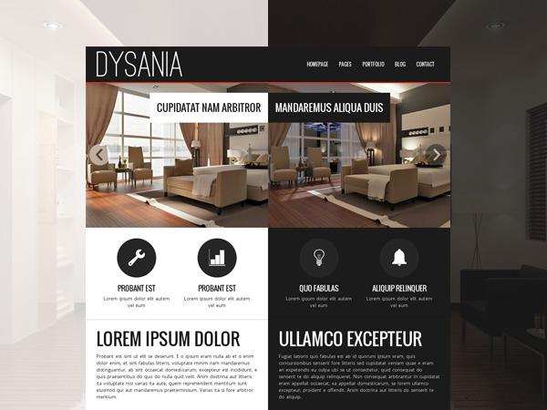 Dysania-Responsive Multi-Purpose Wordpress Theme WordPress website template