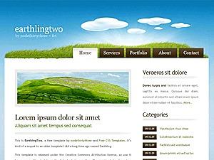 Earthlingtwo theme WordPress
