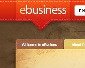 eBusiness company WordPress theme