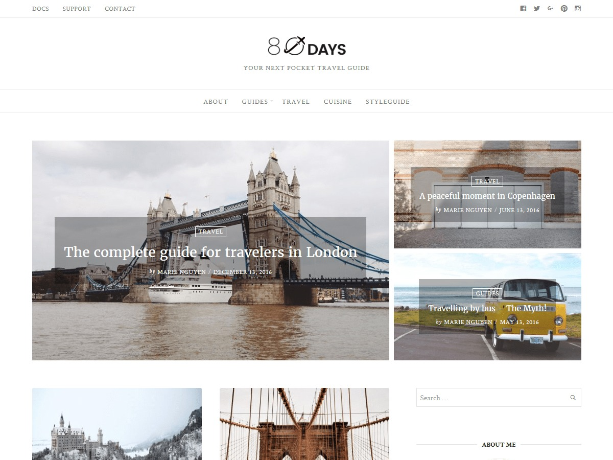 EightyDays Lite theme free download